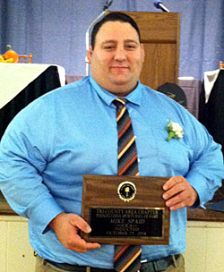 Spaid inducted into the Tri-County Sports HOF