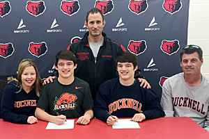 Campbells choose Bucknell for college