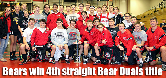 Bears win 4th straight Bear Duals title