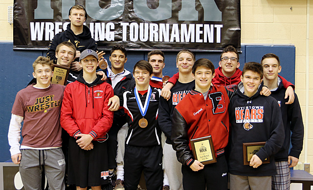 Bears finish 5th at Escape the Rock with 6 placers