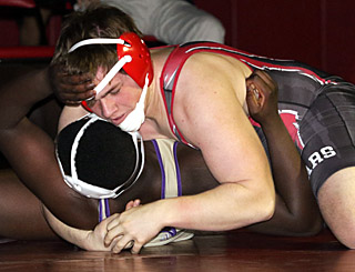 Grohoski's pin fuels big win over Upper Darby.