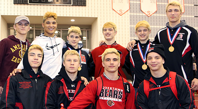 Bears sending six to states after South East AAA regional