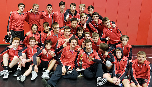 Bears place 3rd at 2018 Bear Duals